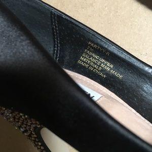 Steve Madden  Black Glittered heels shoes